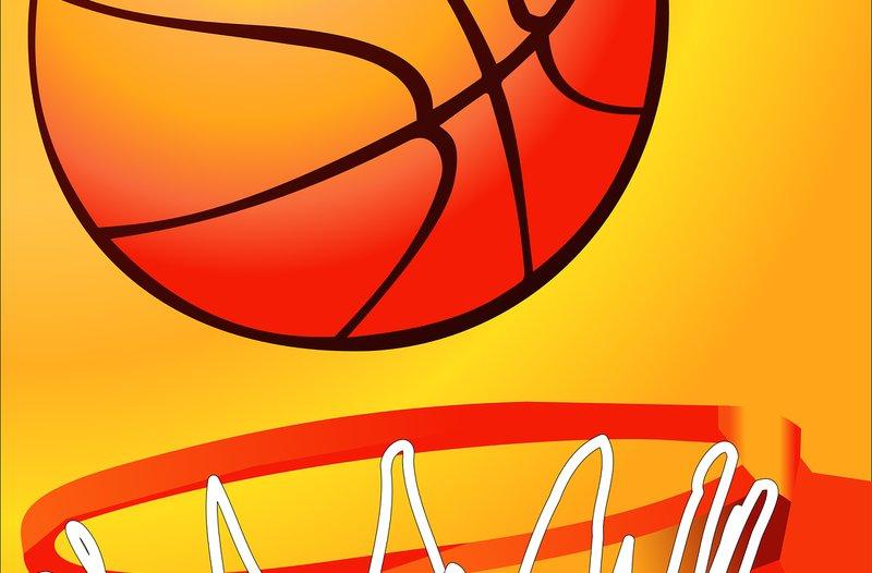 Ziele achtsam erreichen - Basketball-Beitragsbild