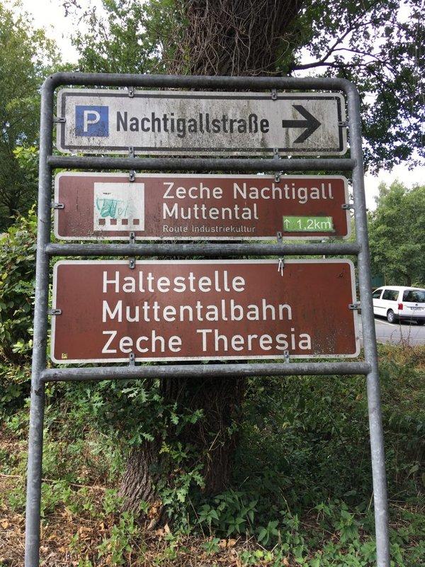 Parkplatz Nachtigallstraße