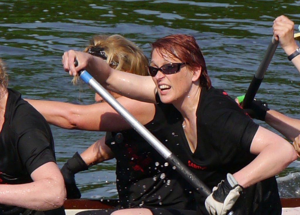 Ziele achtsam erreichen - Drachenbootrennen
